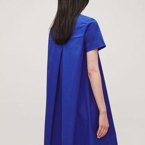 COS A-line Short-sleeve Cotton Dress